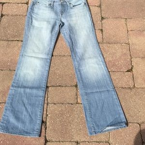 7 For All Mankind Flip Flop Jeans 26x 30